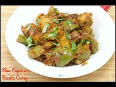 Aloo Capsicum Masala Curry, another simple and easy to make dry curry that is an awesome combo for Chapati and also for Rice. These Potato and capsicum are some veggies most of us surely have a stock in our refrigerator. Its pretty quick to make even for the beginners and for bachelors. Adding capsicum to...Read More