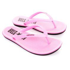 5dce194cdd67 CONVERSE Pink Womens Sandstar Flip Flop Converse Slippers