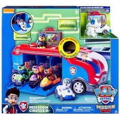 This Paw Patrol Mission Cruiser toy truck patroller is in like new condition sealed in box. The Paw Patrol are on a roll with the Mission Paw Mission Cruiser! Paw Patrol Pups, Paw Patrol Games, Best Kids Toys, Toys For Boys, Disney Pixar Cars, Figurine Star Wars, Christmas Toys, Christmas Outfits, New Trucks