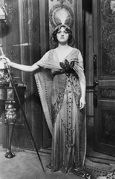 English Actress Gladys Cooper in 1913