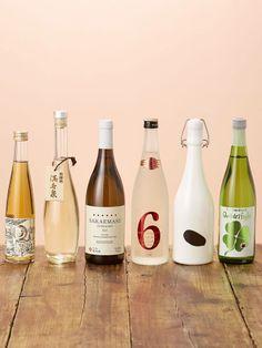 Japanese Sake bottle design