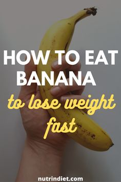 Learn the benefits of bananas and learn the best way to eat bananas to lose weight. Get the most out of bananas for weight loss. See the benefits of banana biomass to lose weight. Weight Loss Snacks, Weight Loss Diet Plan, Weight Gain, Weight Loss Tips, Clean Eating Grocery List, Banana Benefits, Can I Eat, Clean Eating For Beginners, Complete Nutrition
