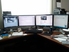 4 monitor setup