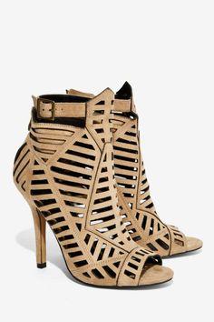 Empire Cutout Bootie - Shoes | Open Toe