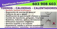 Reparación Calderas, Termos y Calentadores San Esteban de Pravia