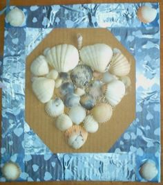 The Ramblings of A Nigerian Workahomom: Valentine Arrived Early: Shell Craft DIY