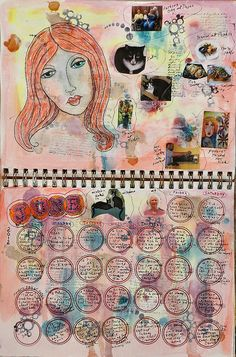 June Finished - RuthArt by RuthArt, via Flickr