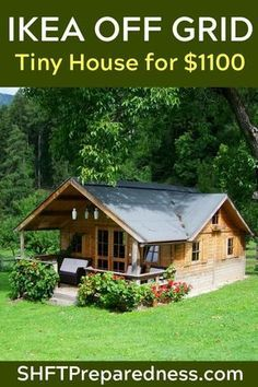 Pole Barn House Plans, Cabin Floor Plans, Pole Barn Homes, Small House Plans, Off Grid Tiny House, Tiny House Cabin, Tiny House Living, Tiny House Design, Simple Shed