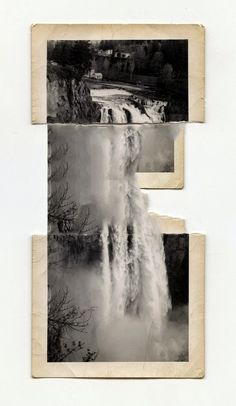 Joe Rudko works with photographs and other found items, ripping, cutting, and folding their surfaces before extending the materials with paint, graphite, and photographic spotting pens.