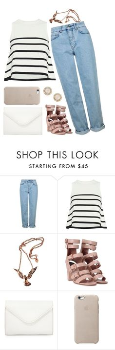 """Is It Not A Crime"" by girl-pictured ❤ liked on Polyvore featuring Topshop, Cardigan, Laurence Dacade, Neiman Marcus and Kate Spade"
