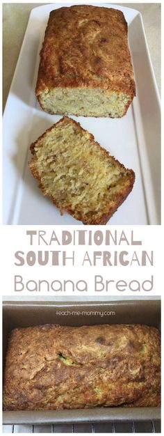 Banana Bread South African Banana Bread A delicious traditional South African recipe for banana bread! Kid friendly too!South African Banana Bread A delicious traditional South African recipe for banana bread! Kid friendly too! South African Desserts, South African Dishes, South African Recipes, African Recipe For Kids, African Bread Recipe, Mexican Recipes, Ma Baker, Nigerian Food, Banana Bread Recipes