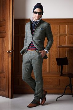#ManStyle: Gant Fall 2013 Menswear Collection - Fashion on #TheCut