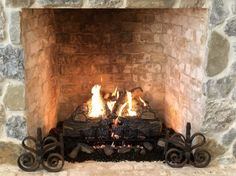 With a gas log fireplace, there is no need for a chimney, let alone sweeping it. You can also find gas logs that burn cleanly with natural gas or propane.  #gasfireplacelogs #gasfireplace #fireplace #home Direct Vent Gas Fireplace, Vented Gas Fireplace, Natural Gas Fireplace, Diy Outdoor Fireplace, Gas Fireplace Logs, Gas Fire Logs, Ventless Gas Logs, Gas Fires, Gas Log Burner