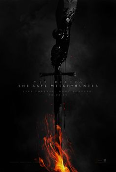 The Last Witch Hunter Teaser Trailer and Poster with Vin Diesel #poster #vindiesel