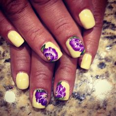 Lovthe colors. Day 143: Spring Pastels Nail Art - - NAILS Magazine #BeautyTalk #nailswag