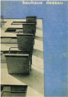 BAUHAUS MAGAZINE  Herbert Bayer, 1927