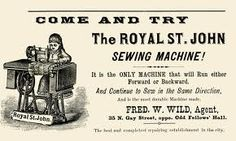 sewing machines across the world