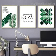 This multipanel botanical and quotes art style canvas prints set is perfect for your kids study room decoration. Wall Art Sets, Wall Art Decor, Room Decor, Canvas Art Prints, Wall Art Prints, Online Art Store, 3 Piece Canvas Art, Kids Study, Modern Frames