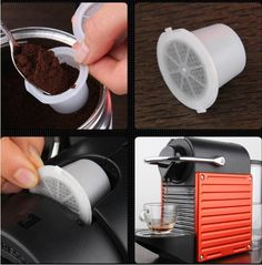 refillable coffee pods compatible with nespresso machine