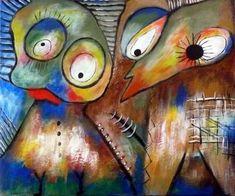 "Saatchi Art Artist Concha Flores Vay; Painting, ""ERES CASTA?  UI.. SOY ARTISTA"" #art"