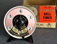 Vintage Mid Century Kitchen Bell Timer Vintage Decor, Retro Vintage, Time Timer, Egg Timer, Vintage Appliances, Kitchen Timers, Mid Century Decor, Cooking Timer, Kitchen Gadgets