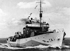 HMCS Regina (K 234) of the Royal Canadian Navy - Canadian Corvette of the Flower class - Allied Warships of WWII - uboat.net