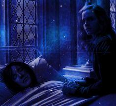 Hermione and Snape (Piton) Severus Snape, Snape And Hermione, Harry Potter Severus, Severus Rogue, Harry Potter Ships, Harry Potter Fan Art, Harry Potter Universal, Harry Potter World, Slytherin
