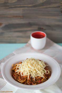 Coentros & Rabanetes: Spaghetti Bolognese