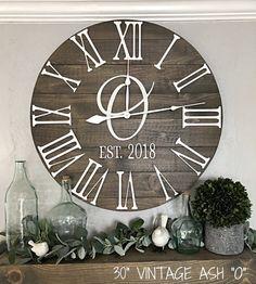 30 Best Large Vintage Wall Clocks Ideas Clock Wall Decor Large Wall Clock Clock Decor
