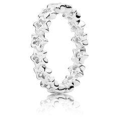 Pandora Ring Funkelnde Sterne 190974CZ