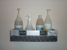 LOVE LOVE LOVE the pump-bottles with Shaklee laundry cleaners.