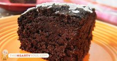 Image of Gluten-Free Quinoa Chocolate Cake Recipe With the Best Natural Sweetener You've EVER Tried