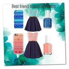 """Best friend matching outfits"" by natalie-gomez2 on Polyvore"