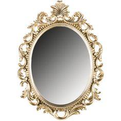 Ornate Silver Napoli Mirror