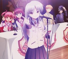 Image in angel beats collection by rudebutpretty Vocaloid, Manga Anime, Anime Art, Anime Angel, Angel Beats!, Manga Cute, Clannad, Ghibli Movies, Anime Shows