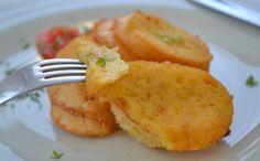 Tolle herzhafte Ritter schmecken mit Schinken und Käse einzigartig. Das schnelle #Rezept für einen wunderbaren Snack.