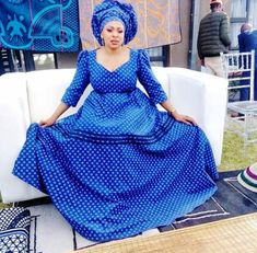 2019 Shweshwe Traditional Dresses: Latest 2019 Gorgeous Collection of Dresses For Ladies. Hi Ladies, Here We have The Latest 2019 Gorgeous Collecti. Setswana Traditional Dresses, Pedi Traditional Attire, South African Traditional Dresses, Traditional Wedding, Latest African Fashion Dresses, African Dresses For Women, African Attire, Seshoeshoe Dresses, Wedding Dresses