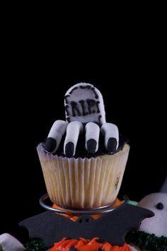 Halloween cupcake #cupcake #bake #recipes