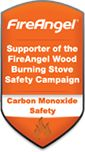 We support the FireAngel Wood Burning Stove Safety Campaign.
