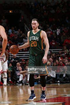 News Photo   Gordon Hayward of the Utah Jazz handles the ball... Gordon 682549ce6
