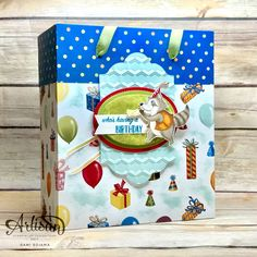 Hello there stampers! Thanks for stopping by! Tonight I'm sharing my and final Birthday Delivery sneak peek. Birthday Delivery, Birthday Pictures, 3d Projects, Stamping Up, Gift Bags, Birthday Cards, Thankful, Paper Crafts, Gift Wrapping