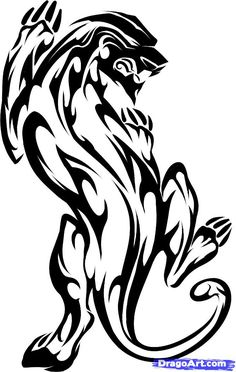 Image result for black panther tattoos