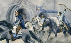The Valiant, Epic Art, Jrr Tolkien, Middle Earth, Lord Of The Rings, Lotr, The Hobbit, Elves, Character Design