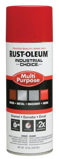 CRC All Purpose Swift Red Enamel Aerosol Spray Paint, 10oz