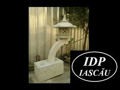 Asian concrete lantern - Rankei
