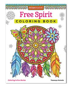 Loving This Free Spirit Coloring Book On Zulily Zulilyfinds