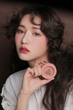 mood recipe face blush pink - Makeup Tips Summer Asian Makeup Looks, Korean Makeup Look, Korean Makeup Tips, Korean Beauty, Make Up Looks, 3ce Makeup, Hair Makeup, Glowy Makeup, Asian Makeup Tutorials