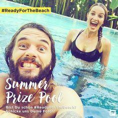 Du willst den Jaza Bikini gewinnen? Na dann los! 1: Poste ein Foto davon wie Du #ReadyForTheBeach wirst. / 2: Tagge #fableticsDE. / 3: Mit etwas Glück gewinnst Du den süßen Bikini!!  Du kannst bis Mittwoch 15.06. um 12 Uhr teilnehmen.