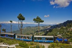 More than 100 years old and is now under World Heritage tag. Darjeeling Himalayan Railway, India.