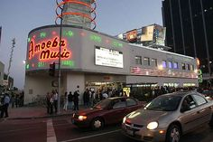 Amoeba Music in Los Angeles, California. Definitely a stop before the summer ends!